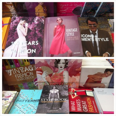 Books for sale at the palace shop