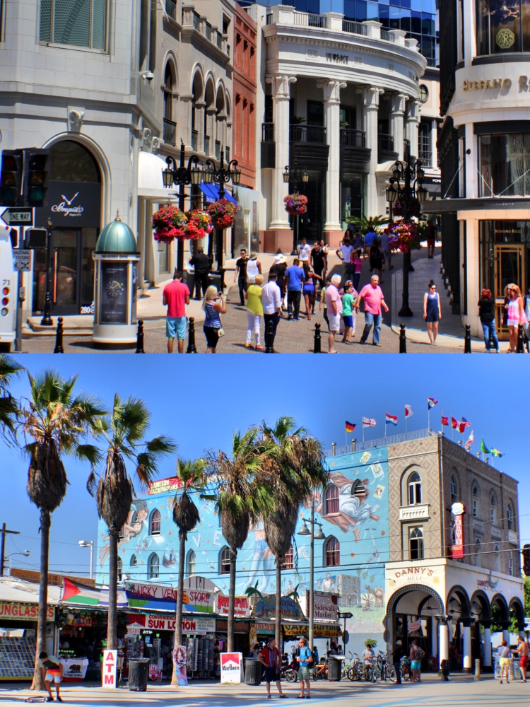 Los Angeles (Rodeo Drive and Venice Beach)