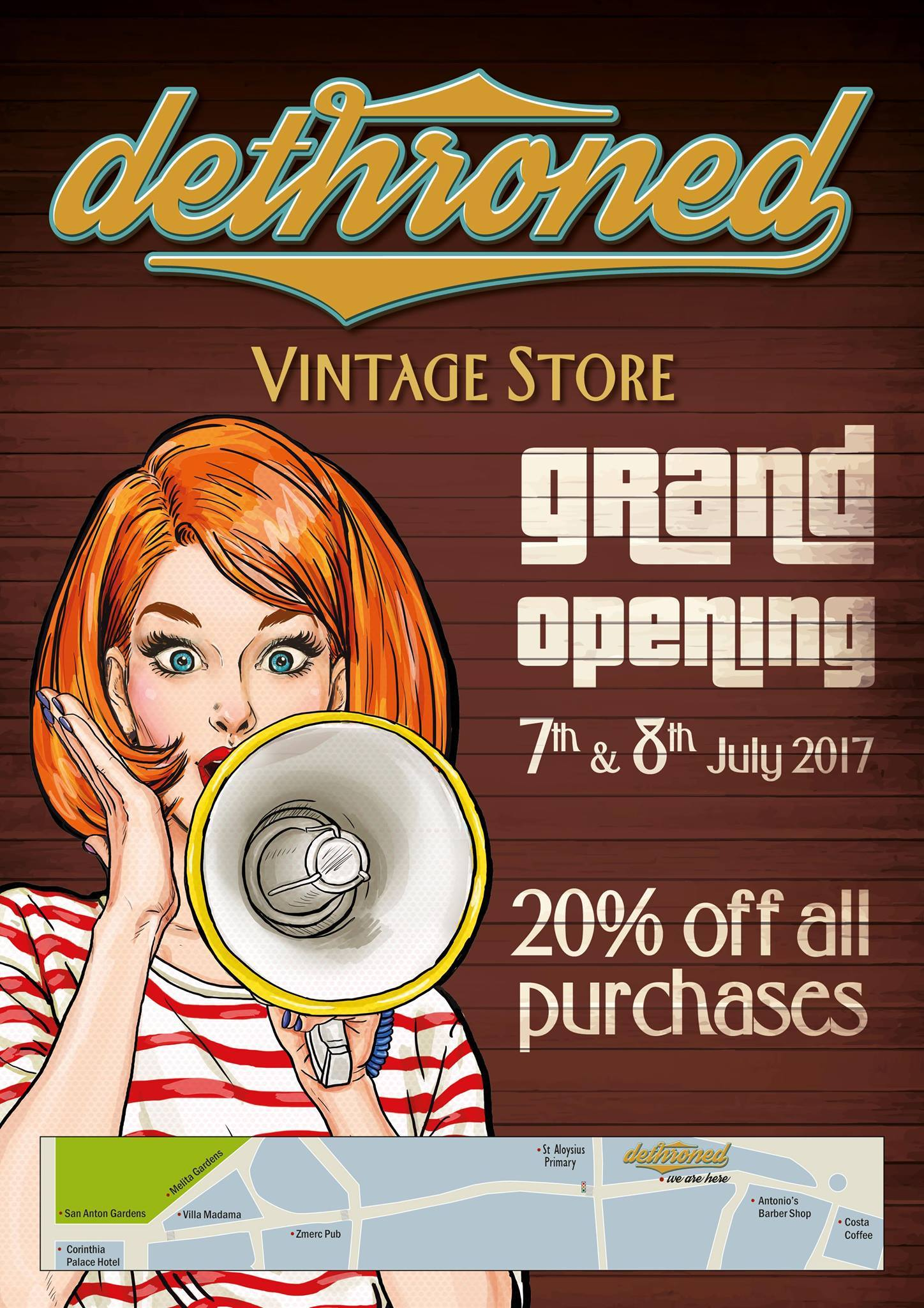 Dethroned Vintage Store: Official Weekend Opening! – Style in Transit